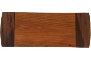 Wood breadboard serving board