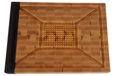 maple end grain meat lovers wood cutting board
