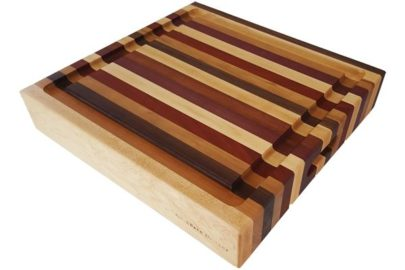 wood butcher block cutting board