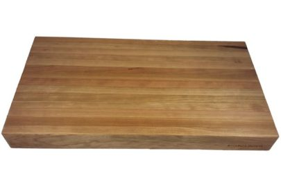 2.5 inch cherry edge grain wood cutting board