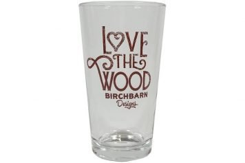 BirchBarn Pint glass